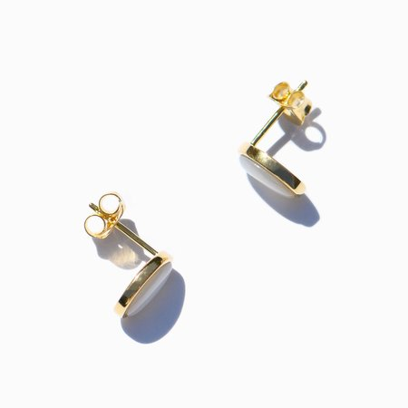 MING YU WANG Seed Earrings - 18K Gold Plated
