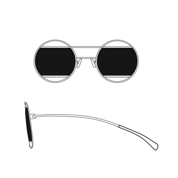 Circle Bar Sunglasses