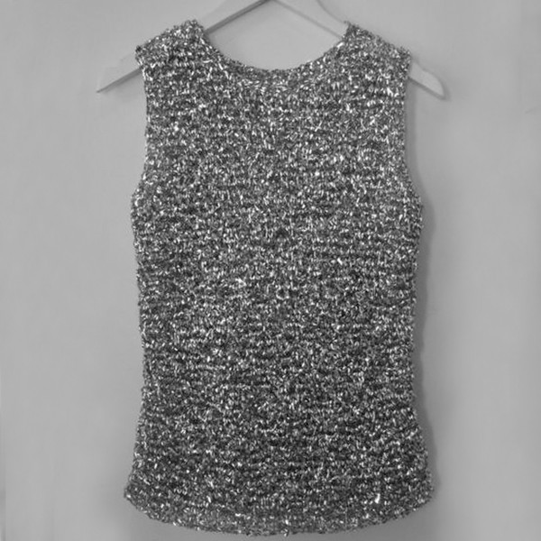 Mylar Knit Tank