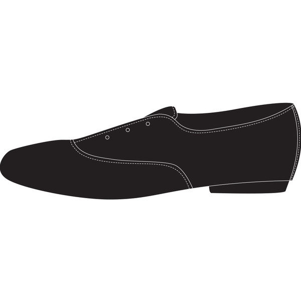 Oxford in Embossed Leather Black