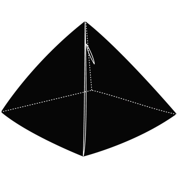 Pyramid Coin Purse in Tan Hieroglyphic
