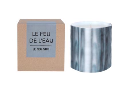 Le Feu De L'Eau Gris Candle