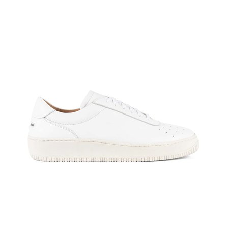 Unseen Footwear Clement Leather - White