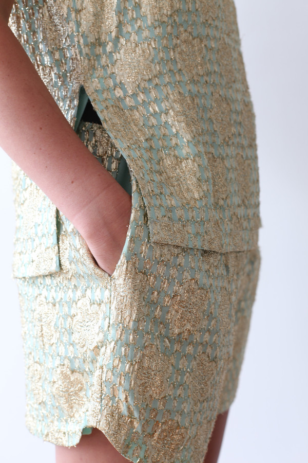 Ganni Emiko Jacquard Shorts