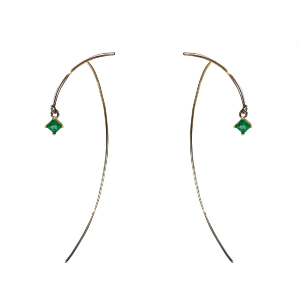 "Tara 4779 ARC ""Stabile"" Earrings - Emerald"
