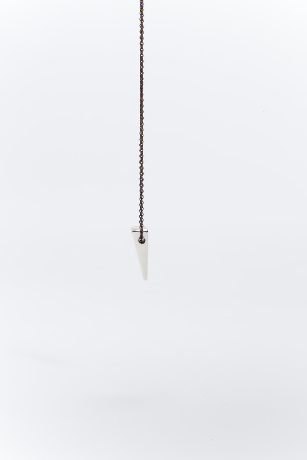 Paradox II Necklace Silver