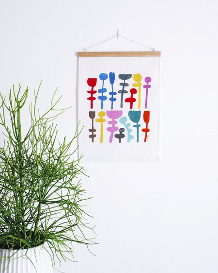 "Claire Ritchie ""Stand Tall"" Fabric Wall Hanging"