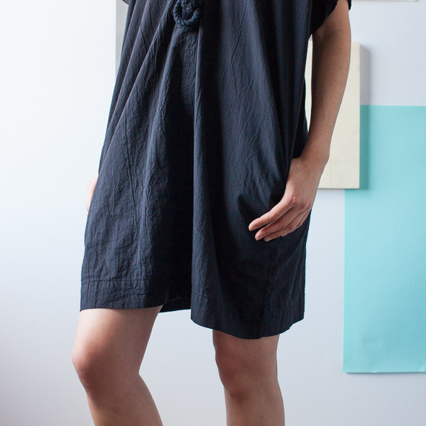 UZI - Oversized V Neck Dress