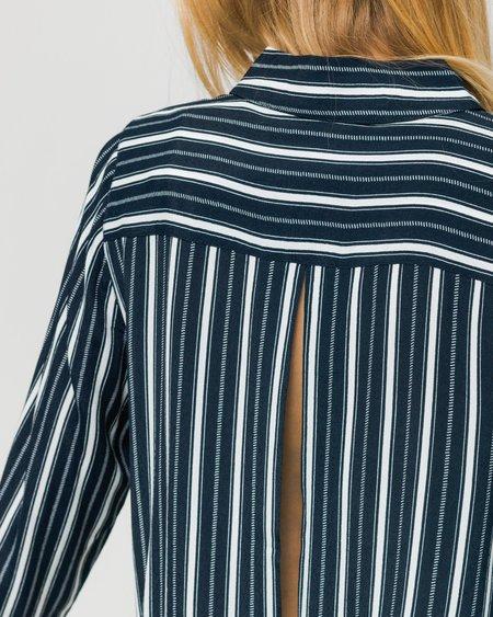 Minimum W Camisa Assia - Navy Blazer