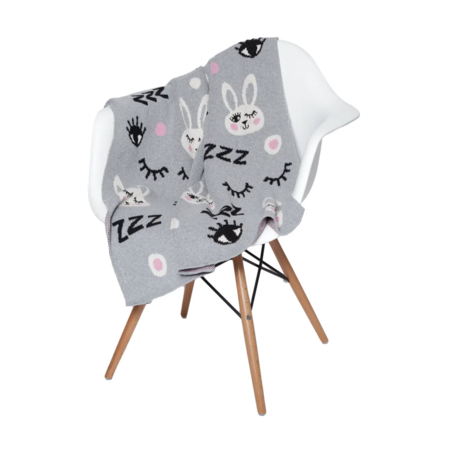kids In2Green Baby Bunny Blanket
