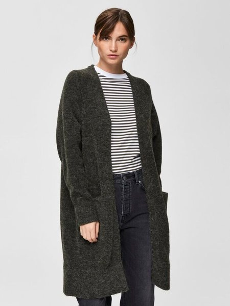 Bestseller Selected Long Knitted Cardigan