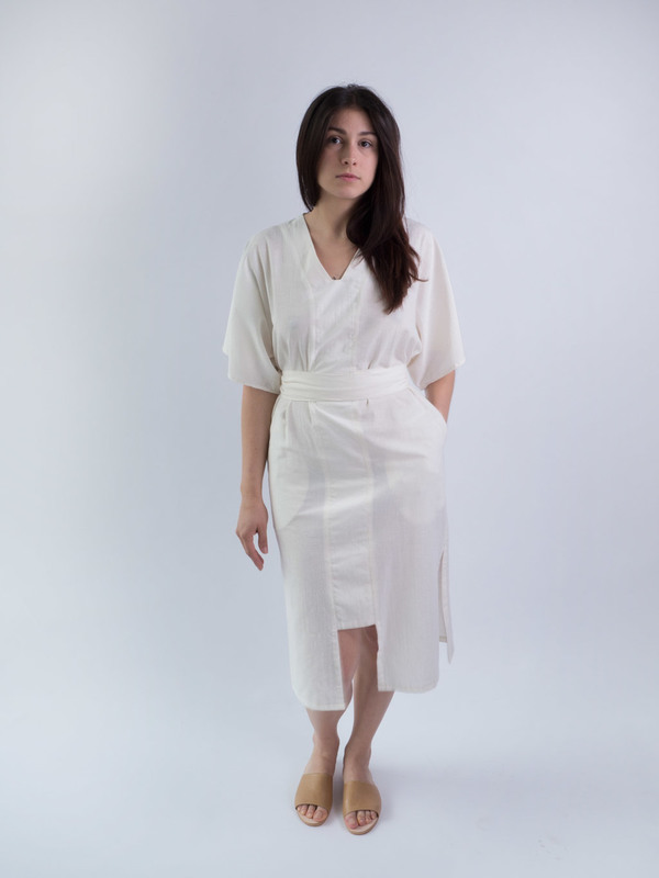 Audrey Brown Kaftan Dress