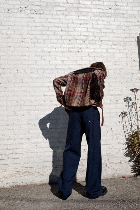 Lanvin Linen Blend Drawcord Boardshort Large Pant