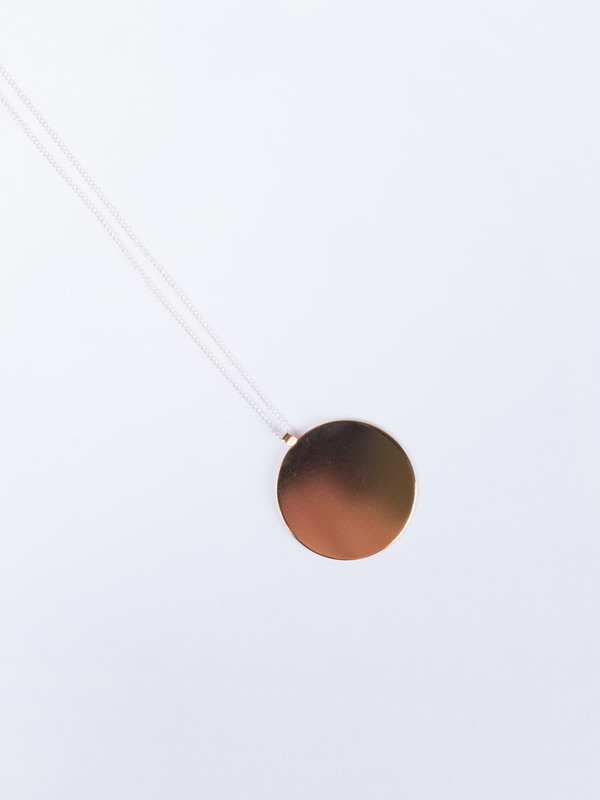 Young Frankk Circle Necklace