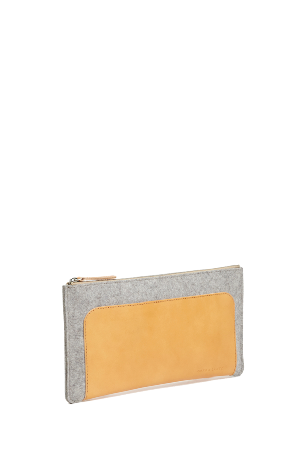 Andie clutch grey
