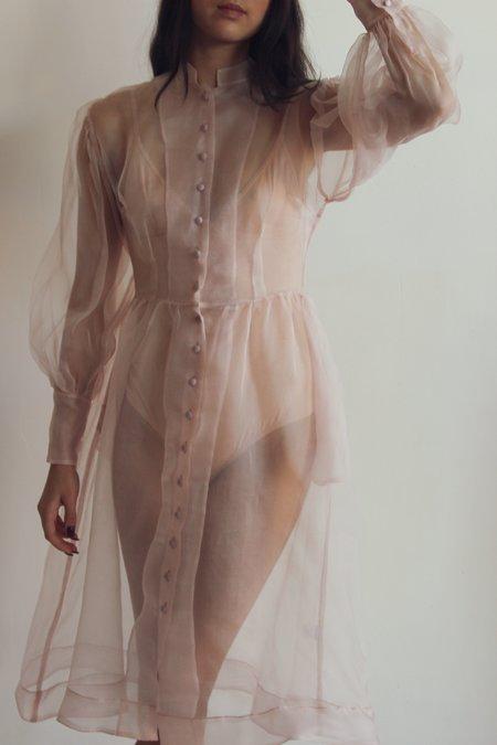 Hannah Kristina Metz helen dress - blush