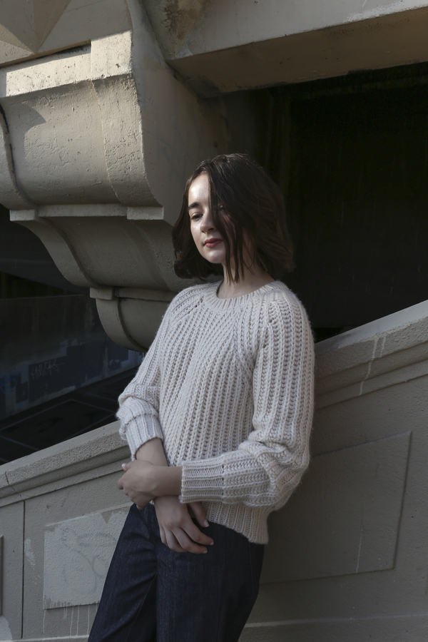 PRE-ORDER - Objects Without Meaning Rib Sweater, Oat