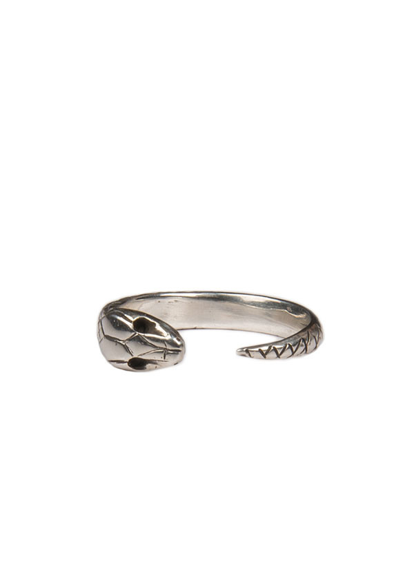 Reason & Madness Jewelry - Snake Ring - Silver or Bronze