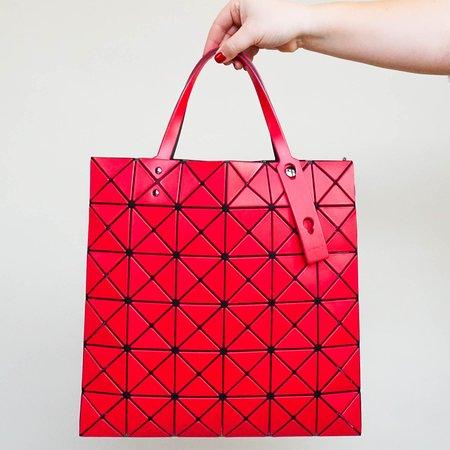 Issey Miyake Bao Bao Lucent Matte Tote Bag - Red