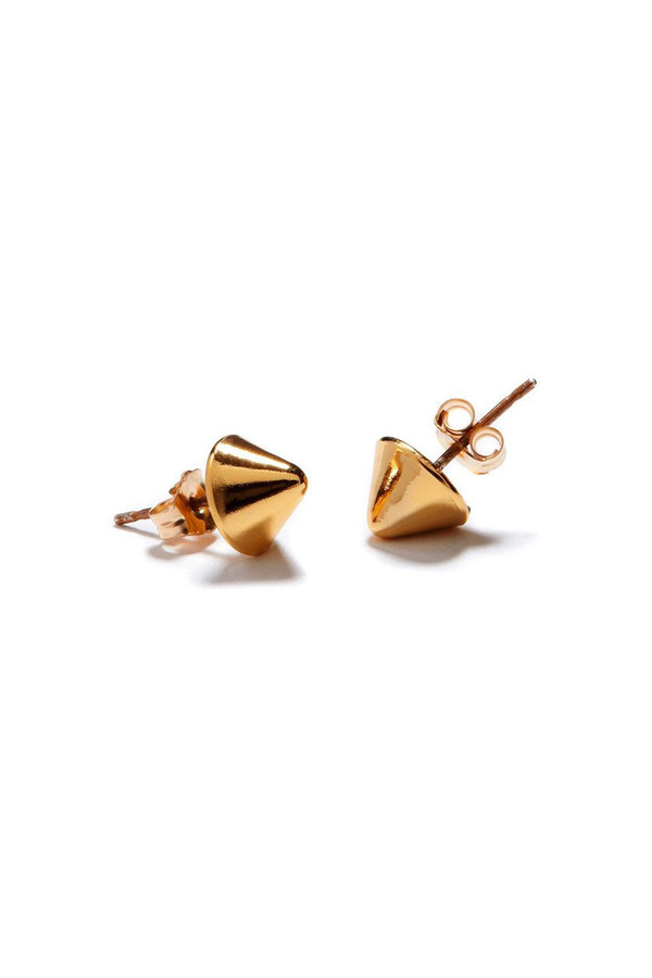 Bing Bang NYC Tiny Vivienne Studs 14k