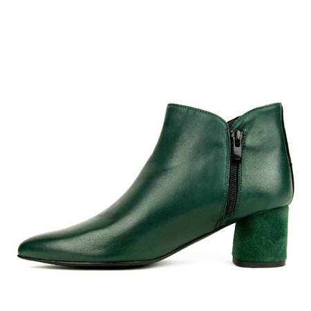 re-souL Nazneen Bootie - Forest Green