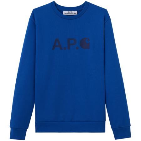 A.P.C. Sweatshirt - blue