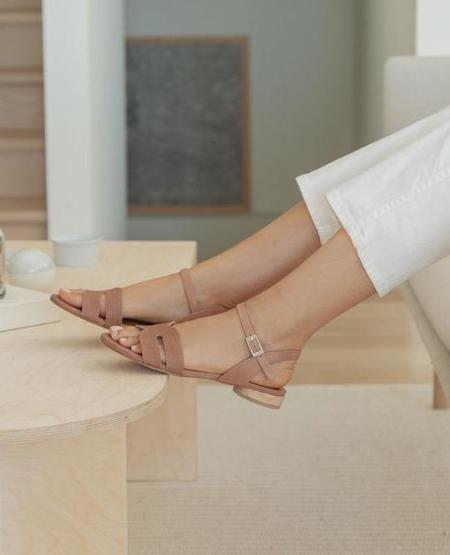 Coclico Crown Sandal - Deep Rose