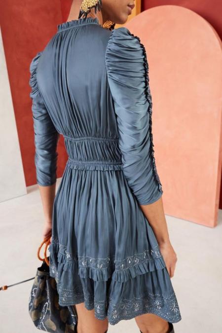Ulla Johnson Luisa dress - slate blue
