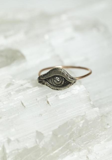 WORKHORSE Pallas Diamond Eye Ring
