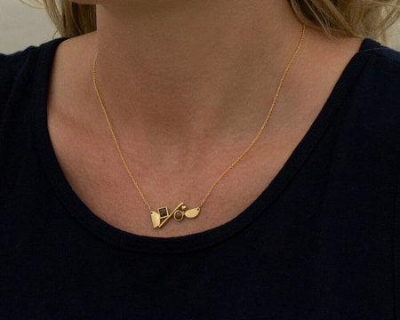Lindsay Lewis Shapes Necklace