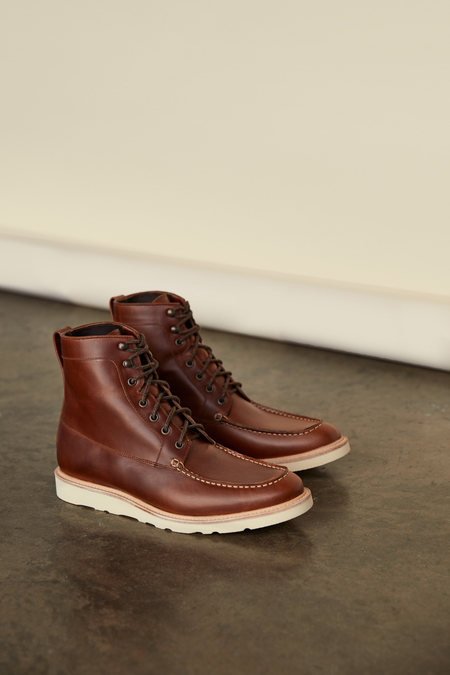 Nisolo Mateo All Weather Boot - Brandy
