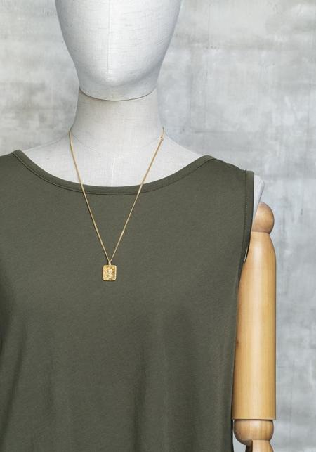 Bjorg Lovers Eye Square Necklace
