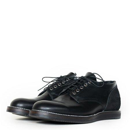 Viberg 145 Oxford Shoe -  Double Black