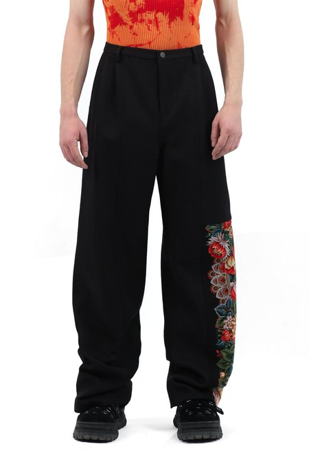 Occhii Patchwork Trousers
