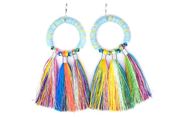 SJO Jewelry mahlangu fringe earrings
