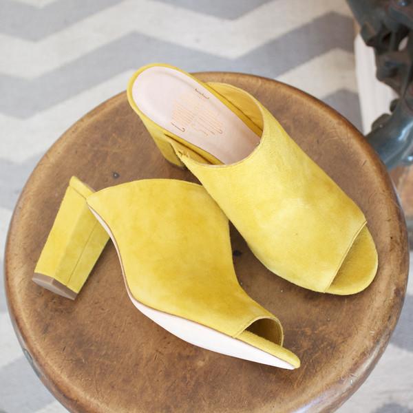 Morley slide - mustard