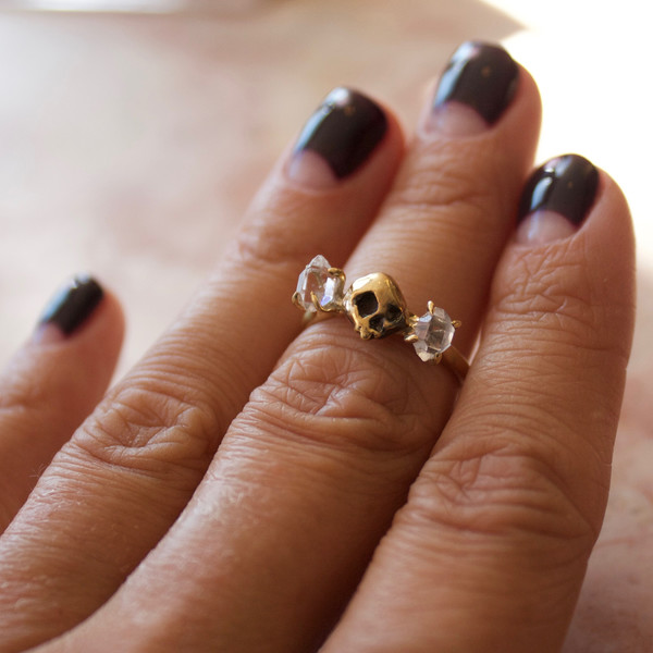 Goldengrove Jewelry toi et moi ring