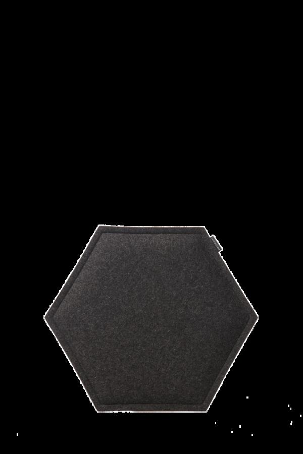 Zabuton Charcoal Honeycomb Seat Pad