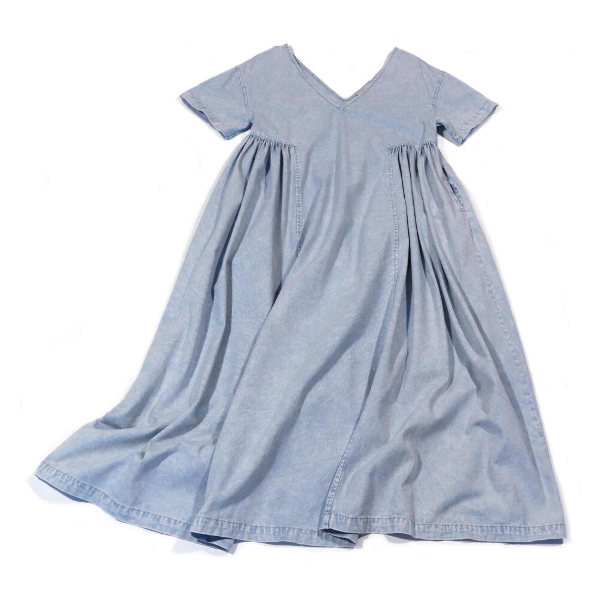 Rachel Comey New Cardiff dress in Sky denim