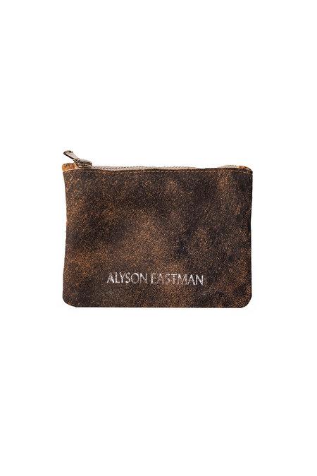 Alyson Eastman Small Pouch - Orange Vintage