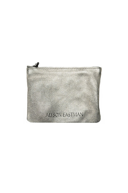 Alyson Eastman Small Leather Pouch - Gold