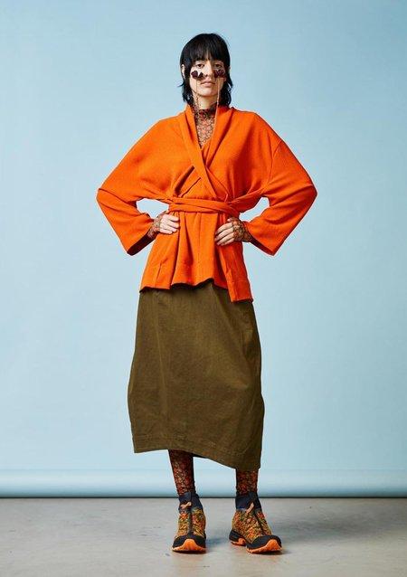 Henrik Vibskov Collect Blouse - Burned Orange