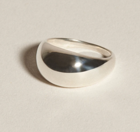 J. Hannah Form Ring II - Silver
