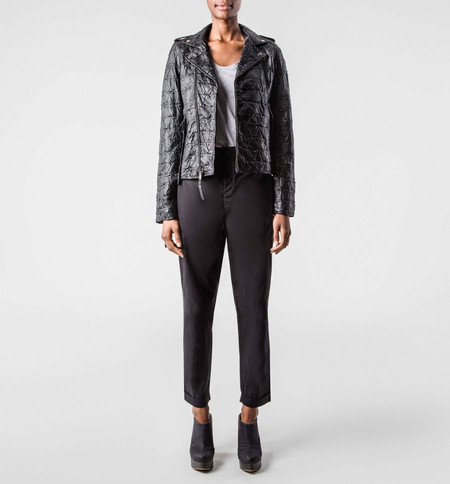 The Sway Bondi Biker Jacket - Black