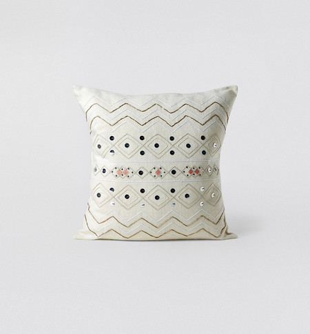 Indego Africa Coral Moroccan Wedding Pillow