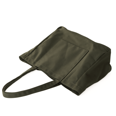 Makr Offset Tote - Army Green Canvas
