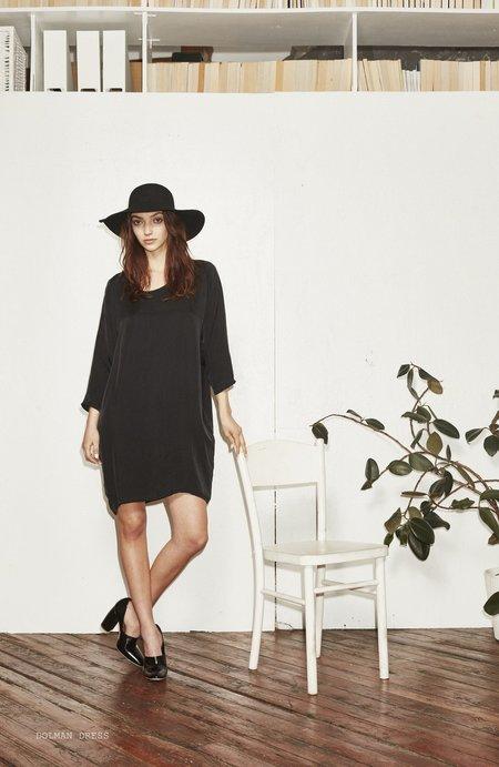 H. Fredriksson DOLMAN DRESS - black