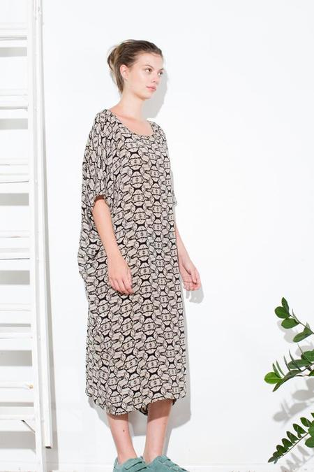 H. Fredriksson TUNIC DRESS - SEAWEED
