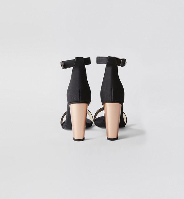 Sydney Brown Open Toe Heel