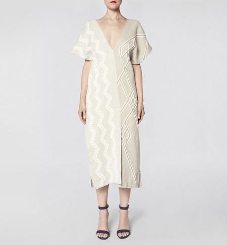 VOZ Textile Two Panel Dress